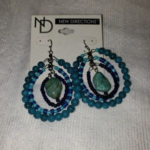 New Directions NWT Beaded Earrings